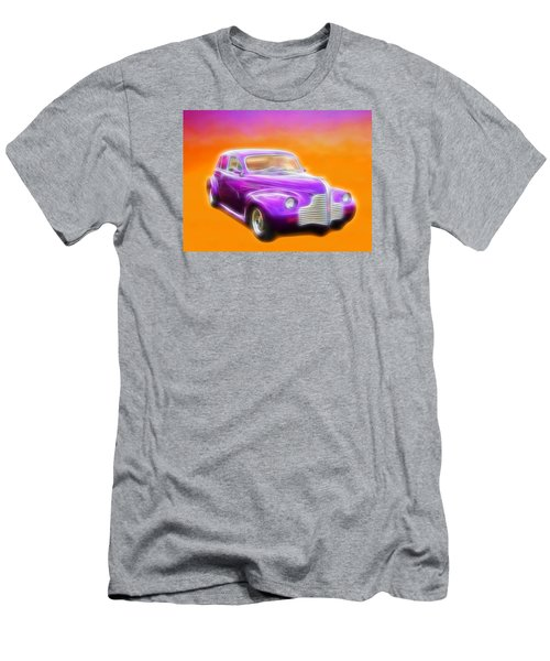 Purple Shadow Cruiser Men's T-Shirt (Athletic Fit)