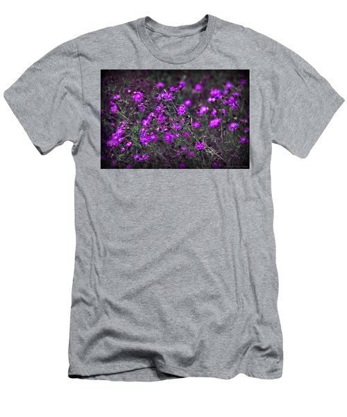 Purple Stars Men's T-Shirt (Athletic Fit)