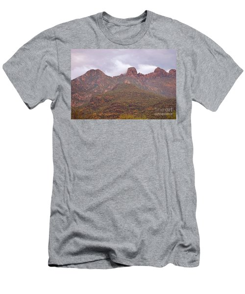 Pusch Ridge Tucson Arizona Men's T-Shirt (Athletic Fit)
