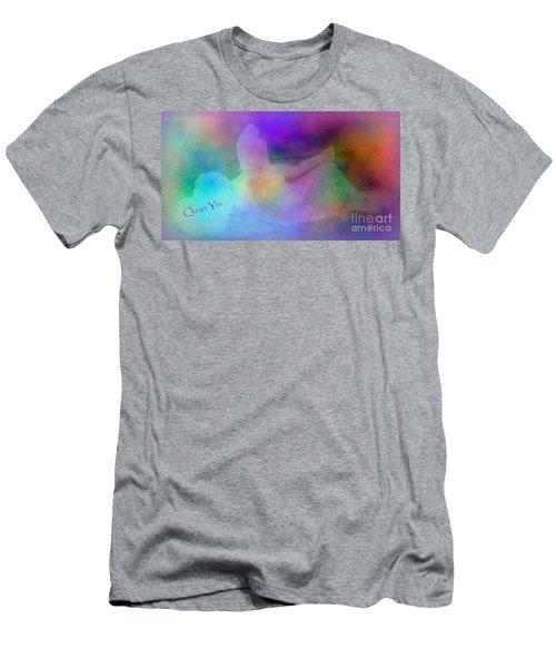 Quan Yin Sedona Sculpture Men's T-Shirt (Athletic Fit)