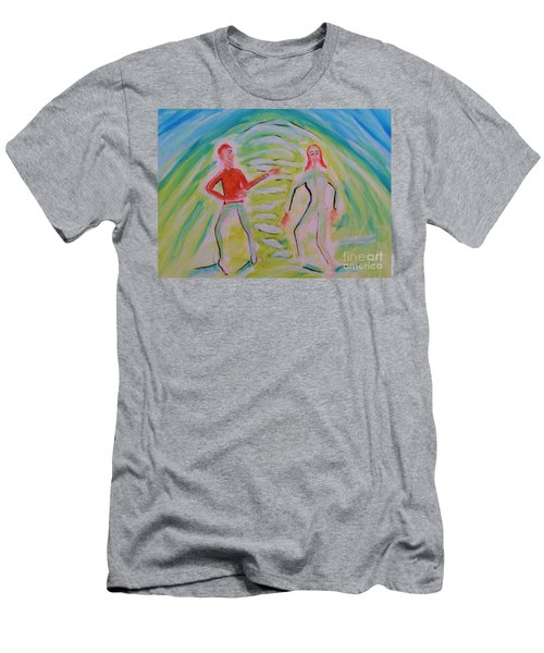 Quantum Entanglement Men's T-Shirt (Athletic Fit)