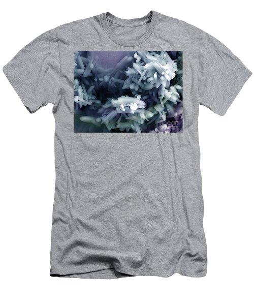 Quartz Nanorods, Nanotechnology Men's T-Shirt (Athletic Fit)