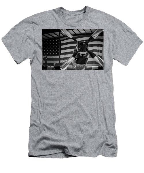 Quick Silver Men's T-Shirt (Athletic Fit)