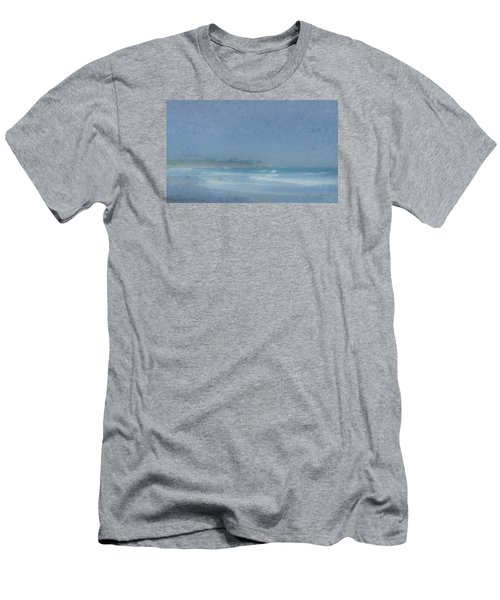 Foggy Afternoon At Little Compton Ri Men's T-Shirt (Athletic Fit)