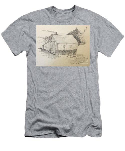 Quiet Barn Men's T-Shirt (Athletic Fit)