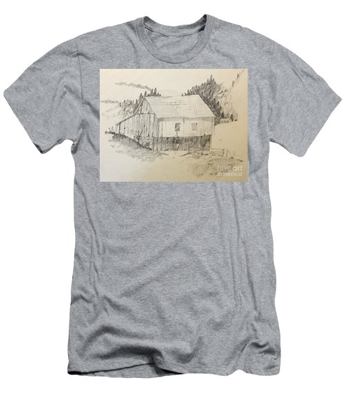 Quiet Barn Men's T-Shirt (Athletic Fit)
