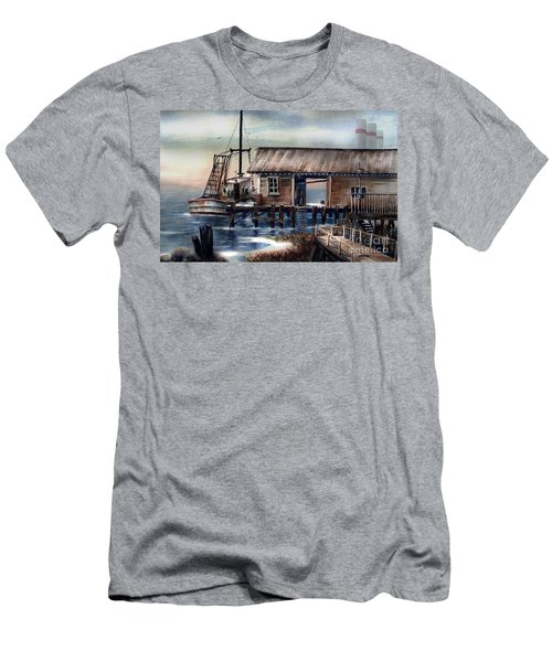 Quiet Pacific Dockside Men's T-Shirt (Athletic Fit)