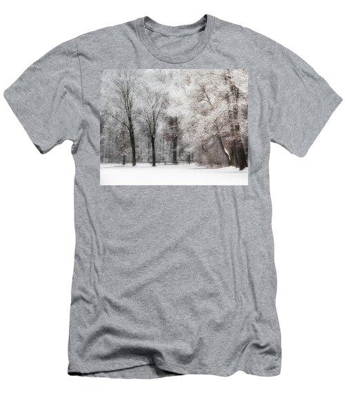 Quiet Winter  Men's T-Shirt (Athletic Fit)