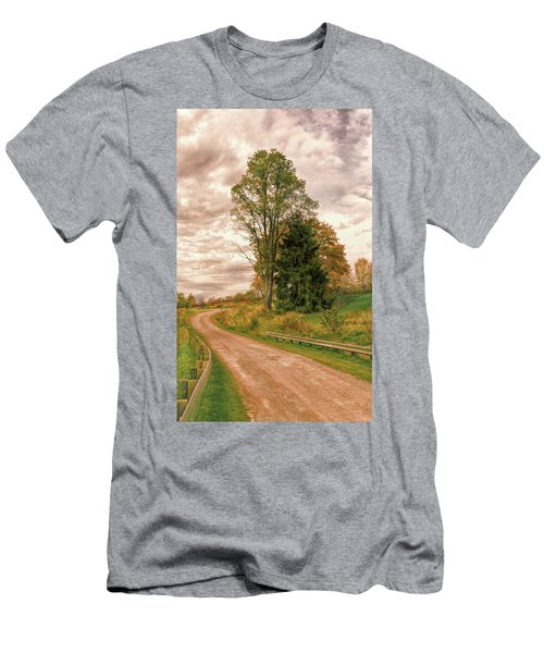 Men's T-Shirt (Athletic Fit) featuring the photograph Quixotic Travels by John M Bailey