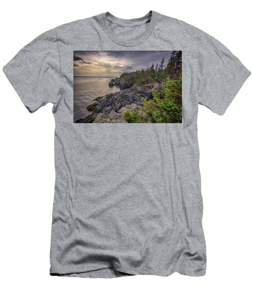 Men's T-Shirt (Athletic Fit) featuring the photograph Quoddy Head State Park by Rick Berk