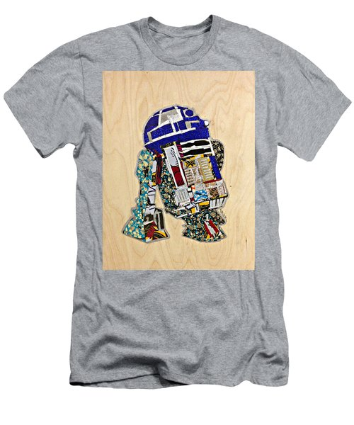 R2-d2 Star Wars Afrofuturist Collection Men's T-Shirt (Athletic Fit)