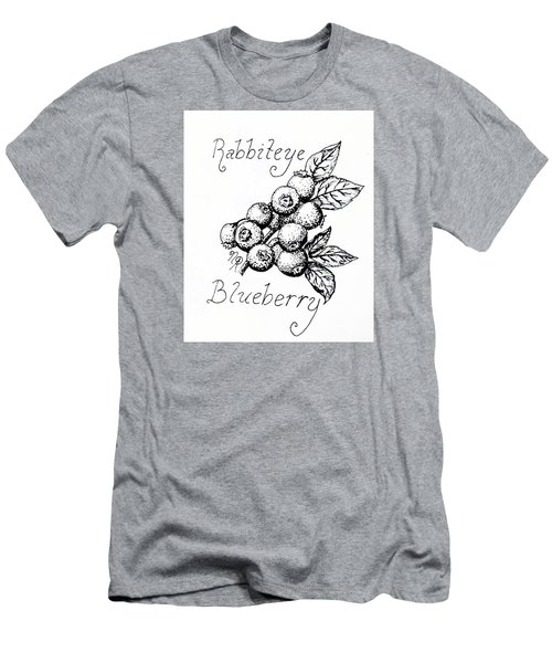 Rabbiteye Blueberry Men's T-Shirt (Athletic Fit)
