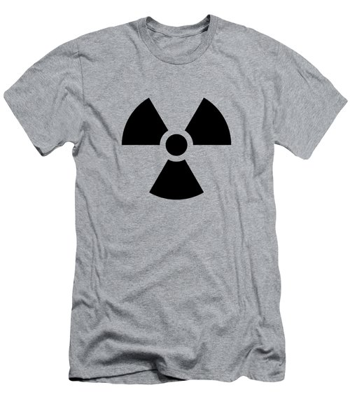 Radiation Hazard Symbol Men's T-Shirt (Athletic Fit)