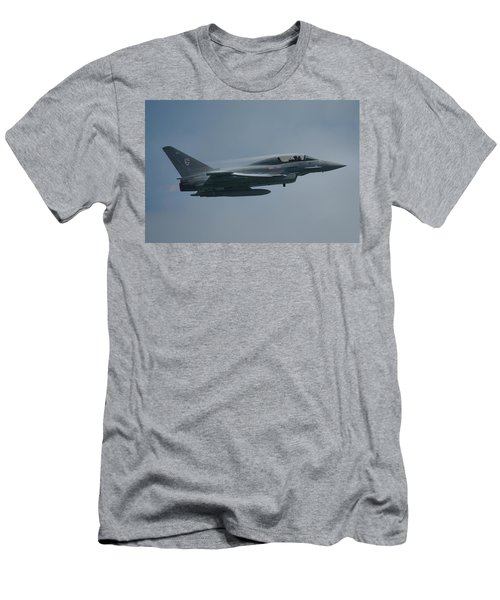 Men's T-Shirt (Slim Fit) featuring the photograph Raf Eurofighter Typhoon T1  by Tim Beach