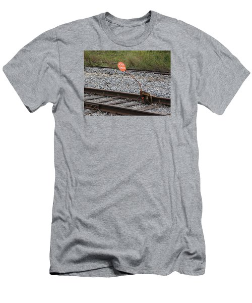 Railroad Work Limit Men's T-Shirt (Athletic Fit)