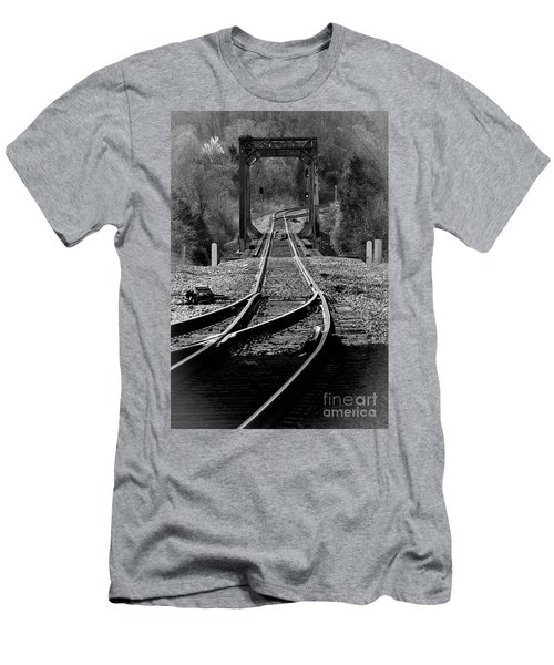 Rails Men's T-Shirt (Slim Fit) by Douglas Stucky
