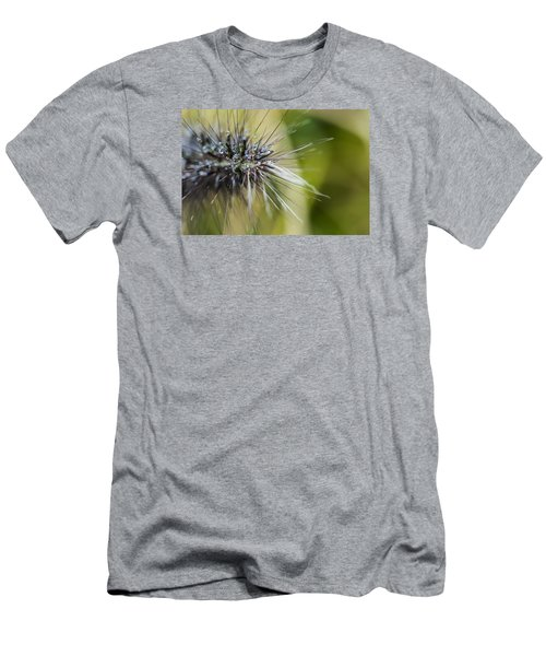 Men's T-Shirt (Slim Fit) featuring the photograph Rain Drops - 9760 by G L Sarti