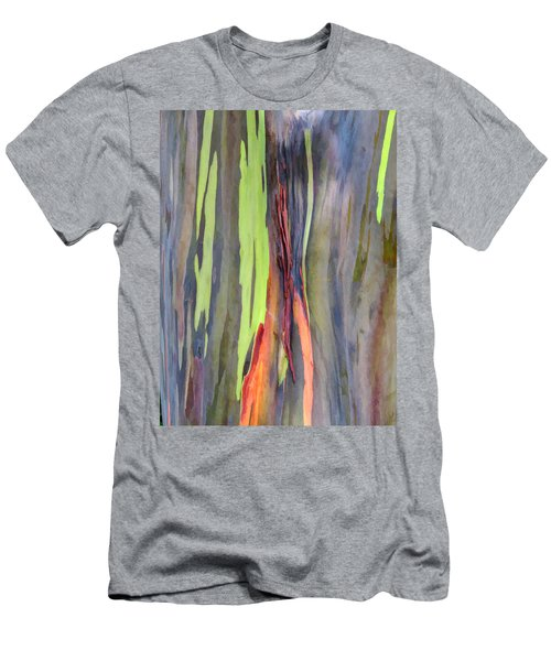 Rainbow Eucalyptus 13 Men's T-Shirt (Athletic Fit)