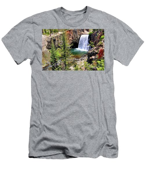 Rainbow Falls 1 Men's T-Shirt (Athletic Fit)