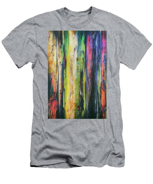Men's T-Shirt (Slim Fit) featuring the photograph Rainbow Grove by Ryan Manuel