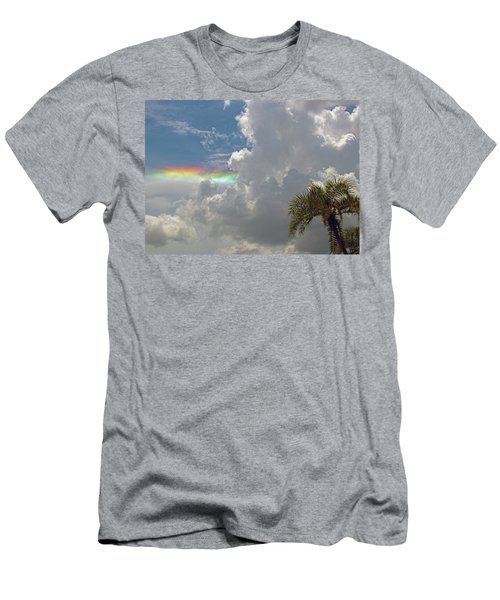 Rainbow To Nowhere Men's T-Shirt (Athletic Fit)