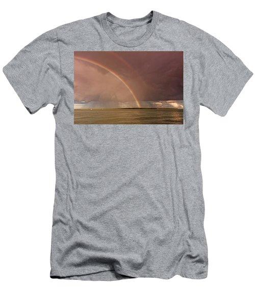 Rainbows Men's T-Shirt (Athletic Fit)