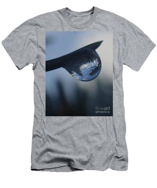 Raindrop World Men's T-Shirt (Athletic Fit)