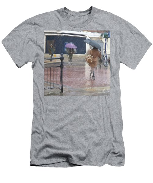 Raining All Around Men's T-Shirt (Athletic Fit)