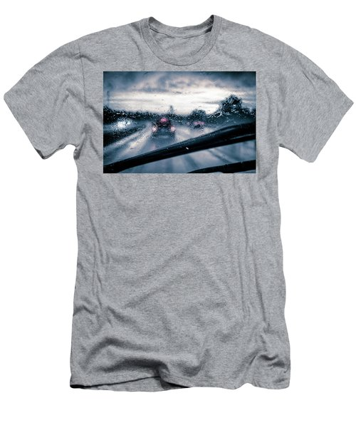 Rainy Day In July Men's T-Shirt (Athletic Fit)