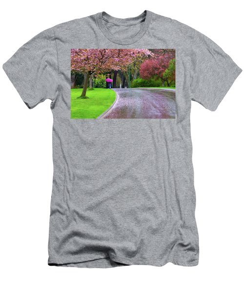 Rainy Day In The Park Men's T-Shirt (Athletic Fit)