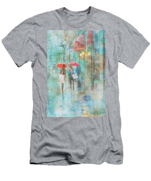 Rainy In Paris 4 Men's T-Shirt (Athletic Fit)