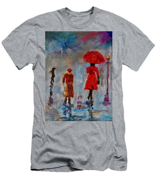 Rainy Spring Day Men's T-Shirt (Athletic Fit)