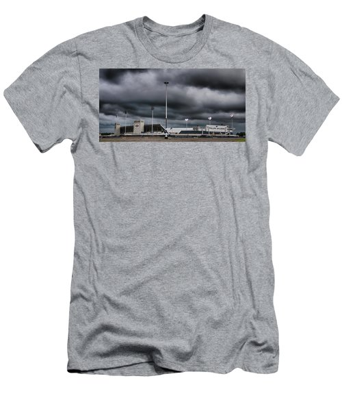 Ralph Wilson Stadium 5803 Men's T-Shirt (Athletic Fit)