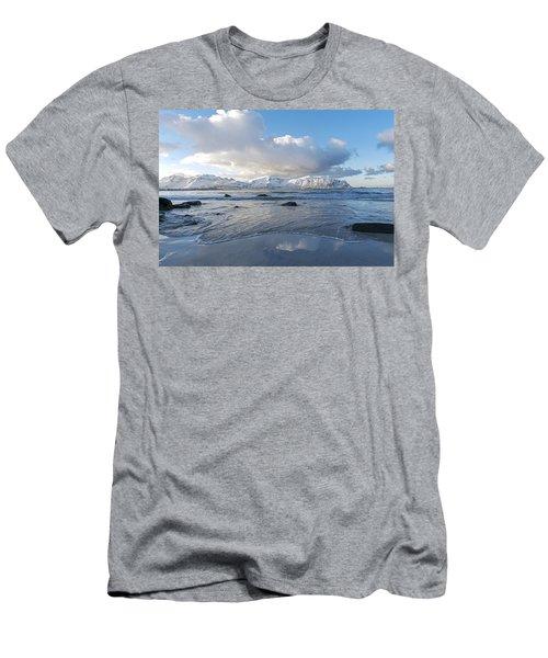 Ramberg Beach, Lofoten Nordland Men's T-Shirt (Athletic Fit)