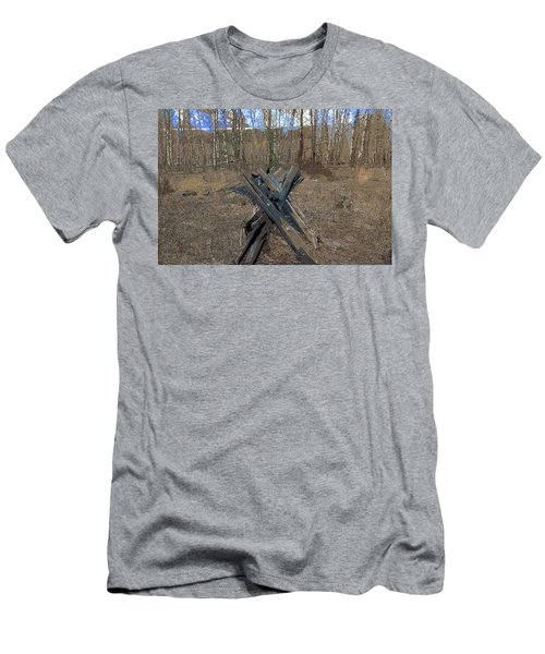 Ranch Fencing Men's T-Shirt (Athletic Fit)
