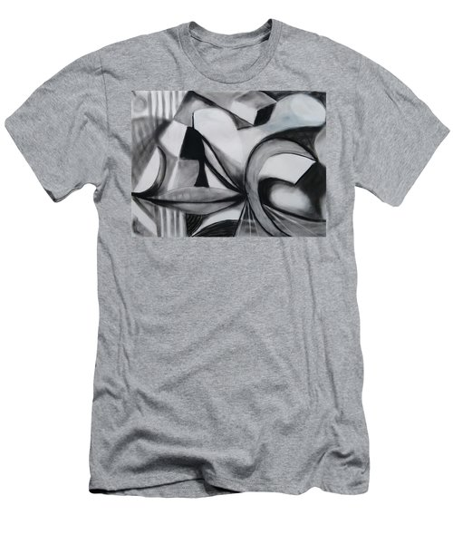 Random Shapes Men's T-Shirt (Athletic Fit)