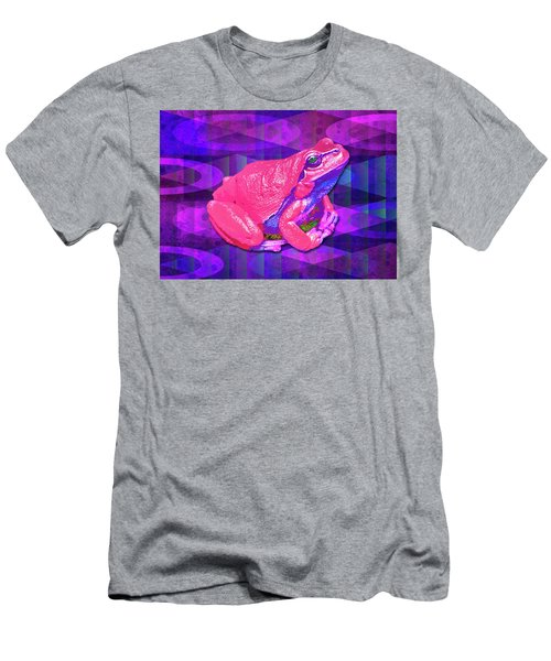 Raspberry Frog Men's T-Shirt (Athletic Fit)