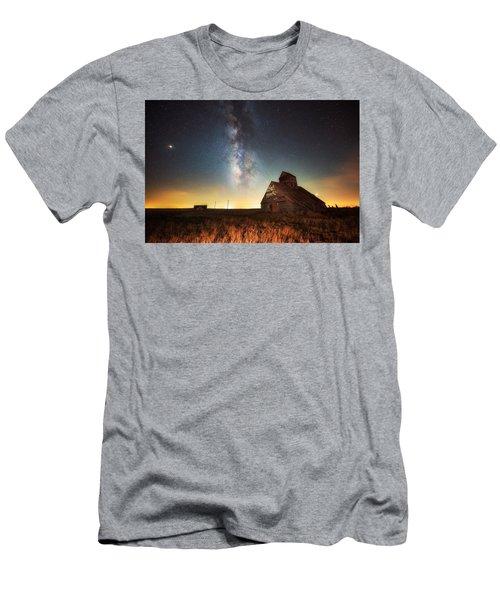 Rattlesnake Silo Barn Men's T-Shirt (Athletic Fit)