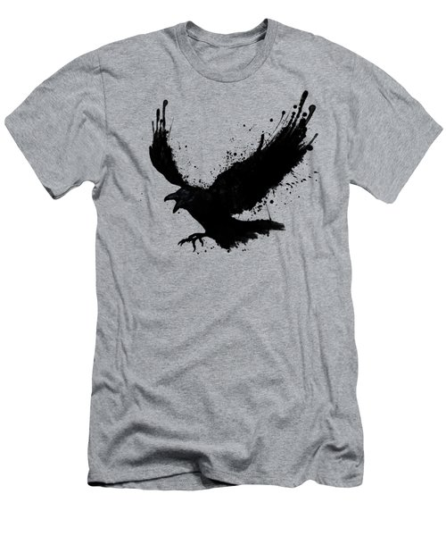 Raven Men's T-Shirt (Slim Fit) by Nicklas Gustafsson
