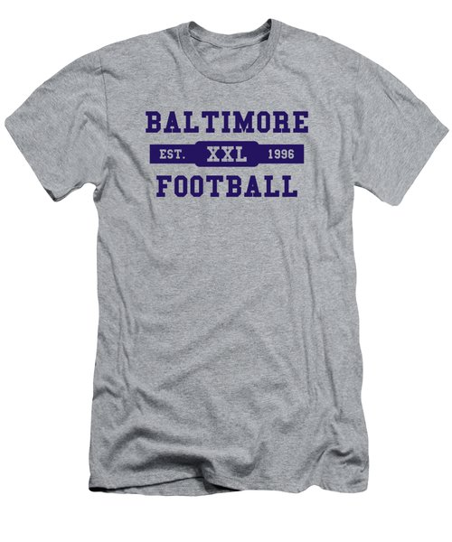 Ravens Retro Shirt Men's T-Shirt (Athletic Fit)