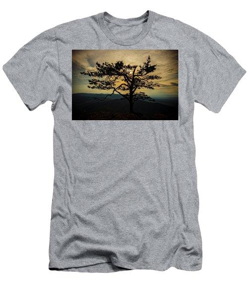 Ravens Roost Hdr Men's T-Shirt (Athletic Fit)