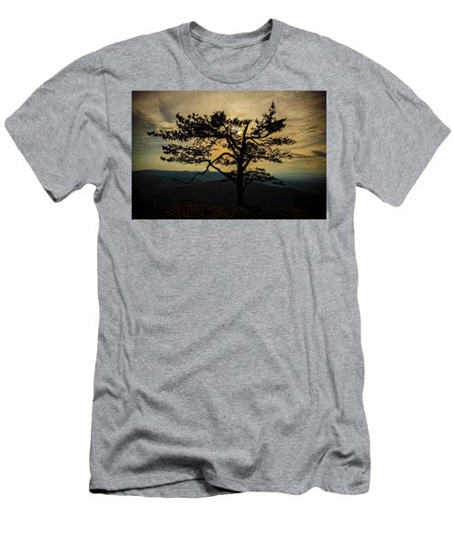 Ravens Roost Hdr Men's T-Shirt (Athletic Fit)