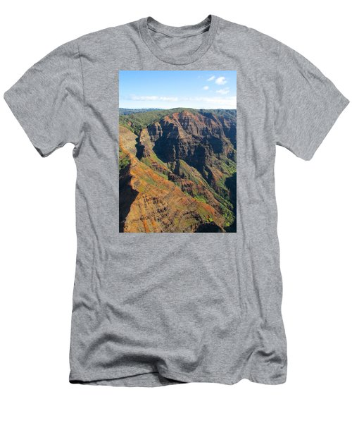 Men's T-Shirt (Slim Fit) featuring the photograph Razor's Edge by Brenda Pressnall