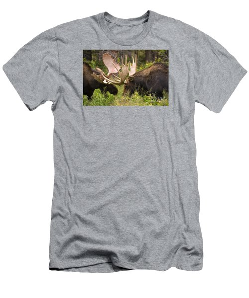 Men's T-Shirt (Slim Fit) featuring the photograph Reach Advantage by Aaron Whittemore