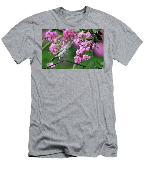 Men's T-Shirt (Athletic Fit) featuring the photograph Reach For It by Trina Ansel