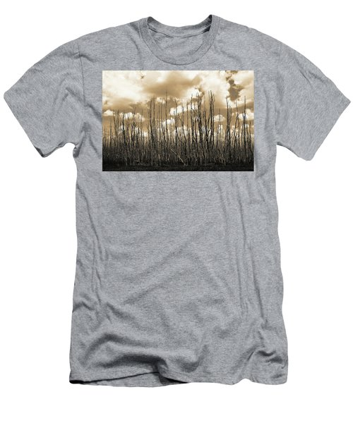 Reaching To The Sky Men's T-Shirt (Athletic Fit)