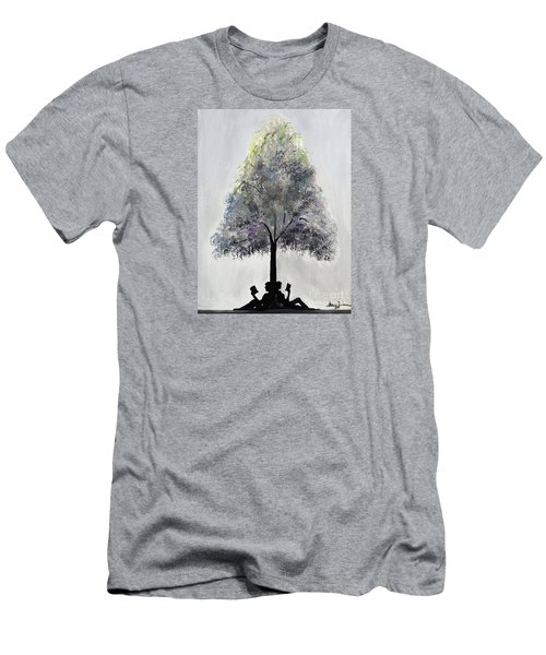 Reading Tree Men's T-Shirt (Athletic Fit)