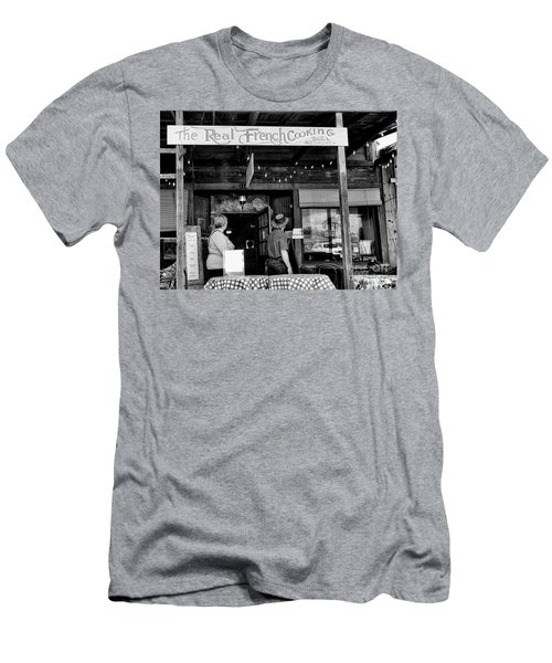 Real French Cooking Louisiana Restaurant  Men's T-Shirt (Athletic Fit)