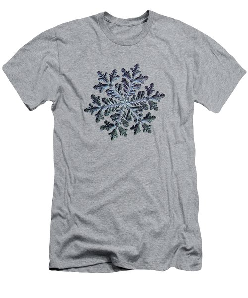 Real Snowflake - Hyperion Dark Men's T-Shirt (Athletic Fit)