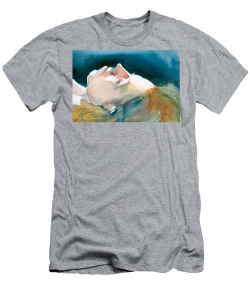 Reclining Head Study Men's T-Shirt (Athletic Fit)